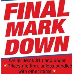 Other - 💥$10 and under marked down to FINAL price!💥
